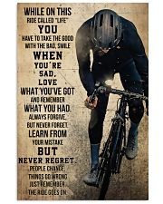 Cycling Never Regret 11x17 Poster front