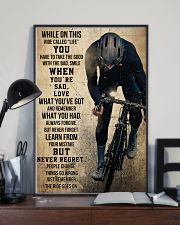 Cycling Never Regret 11x17 Poster lifestyle-poster-2