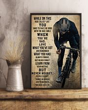 Cycling Never Regret 11x17 Poster lifestyle-poster-3