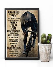 Cycling Never Regret 11x17 Poster lifestyle-poster-8