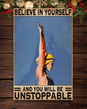 Swimmers Believe In Yourself You'll Be Unstoppable 11x17 Poster aos-poster-portrait-11x17-lifestyle-22