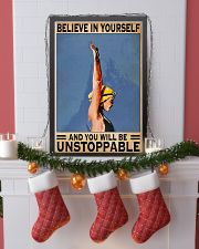 Swimmers Believe In Yourself You'll Be Unstoppable 11x17 Poster lifestyle-holiday-poster-4