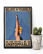 Swimmers Believe In Yourself You'll Be Unstoppable 11x17 Poster lifestyle-poster-8