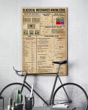Classical Mechanics Knowledge 11x17 Poster lifestyle-poster-7