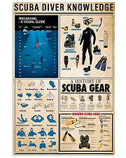 Scuba Diving Knowledge 11x17 Poster front