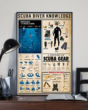 Scuba Diving Knowledge 11x17 Poster lifestyle-poster-2