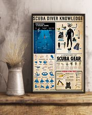 Scuba Diving Knowledge 11x17 Poster lifestyle-poster-3
