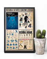 Scuba Diving Knowledge 11x17 Poster lifestyle-poster-8