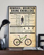 Cycling Downhill Mountain Biking 11x17 Poster lifestyle-poster-2