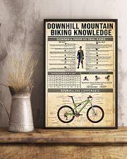 Cycling Downhill Mountain Biking 11x17 Poster lifestyle-poster-3