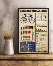 Cycling Knowledge 11x17 Poster lifestyle-poster-3