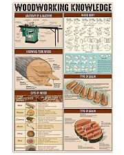 Carpenter Woodworking Knowledge 11x17 Poster front