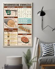 Carpenter Woodworking Knowledge 11x17 Poster lifestyle-poster-1