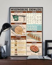 Carpenter Woodworking Knowledge 11x17 Poster lifestyle-poster-2