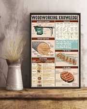 Carpenter Woodworking Knowledge 11x17 Poster lifestyle-poster-3