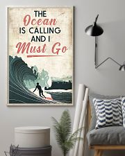 Surfing The Ocean Is Calling I Must Go 11x17 Poster lifestyle-poster-1