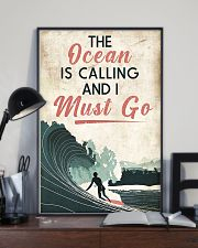 Surfing The Ocean Is Calling I Must Go 11x17 Poster lifestyle-poster-2