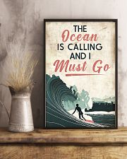 Surfing The Ocean Is Calling I Must Go 11x17 Poster lifestyle-poster-3