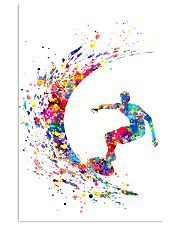Surfing Man Color Art 16x24 Poster front