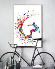 Surfing Man Color Art 16x24 Poster lifestyle-poster-7