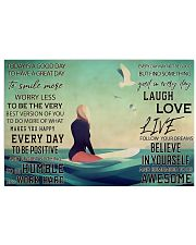Surfing - Today Is A Good Day To Have A Great Day 17x11 Poster front