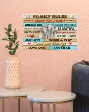 Elephants Family Rules  17x11 Poster poster-landscape-17x11-lifestyle-21