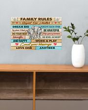Elephants Family Rules  17x11 Poster poster-landscape-17x11-lifestyle-24