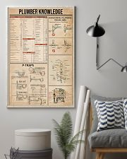 Plumber Knowledge 16x24 Poster lifestyle-poster-1