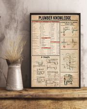 Plumber Knowledge 16x24 Poster lifestyle-poster-3