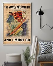 Surfing - The Waves Are Calling And I Must Go 11x17 Poster lifestyle-poster-1