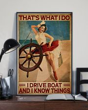 Sailor That's What I Do I Drive Boat  11x17 Poster lifestyle-poster-2