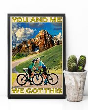 Cycling You And Me We Got This 11x17 Poster lifestyle-poster-8