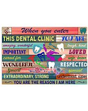 Dentist This Dental Clinic 17x11 Poster front