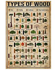 Carpenter Types Of Wood 11x17 Poster front