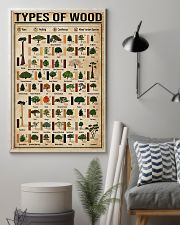 Carpenter Types Of Wood 11x17 Poster lifestyle-poster-1