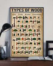 Carpenter Types Of Wood 11x17 Poster lifestyle-poster-2