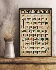 Carpenter Types Of Wood 11x17 Poster lifestyle-poster-3