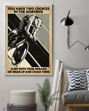 Cycling You Have Two Choices 11x17 Poster lifestyle-poster-1