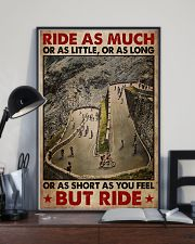 Cycling Ride As Much Or As Little 11x17 Poster lifestyle-poster-2