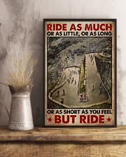 Cycling Ride As Much Or As Little 11x17 Poster lifestyle-poster-3