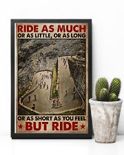 Cycling Ride As Much Or As Little 11x17 Poster lifestyle-poster-8