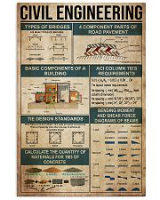 Civil Engineering  11x17 Poster front