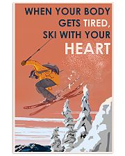 Skiing With Your Heart 11x17 Poster front