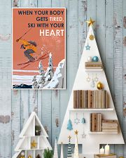 Skiing With Your Heart 11x17 Poster lifestyle-holiday-poster-2
