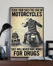 Teach Your Child The Love Of Motorcycles 11x17 Poster lifestyle-poster-2