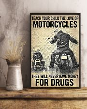 Teach Your Child The Love Of Motorcycles 11x17 Poster lifestyle-poster-3