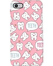 Dentist Cute Pink Teeth Phone Case i-phone-7-case