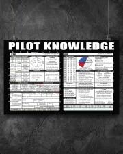 Pilot Knowledge 17x11 Poster aos-poster-landscape-17x11-lifestyle-12