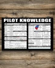 Pilot Knowledge 17x11 Poster aos-poster-landscape-17x11-lifestyle-14