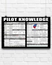 Pilot Knowledge 17x11 Poster aos-poster-landscape-17x11-lifestyle-17
